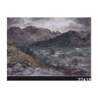 View in Borrowdale Canvas Print