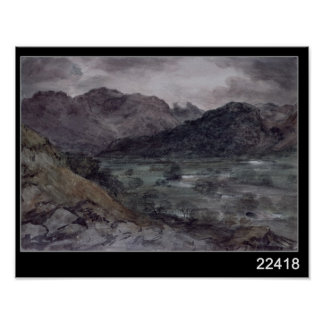 View in Borrowdale Poster