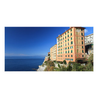 view in Camogli Photo Card