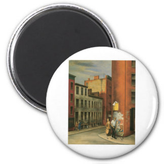 View in Chambers Street, New York City c. 1936 2 Inch Round Magnet