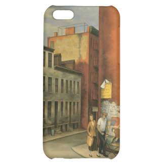 View in Chambers Street, New York City c. 1936 iPhone 5C Cases