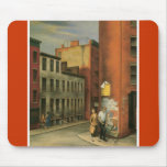 View in Chambers Street, New York City c. 1936 Mouse Pads