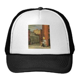 View in Chambers Street, New York City c. 1936 Trucker Hat