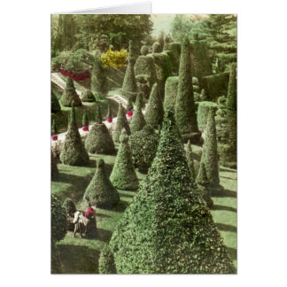 View in Mr. Hunnewell's Grounds, Wellesley, Mass Card
