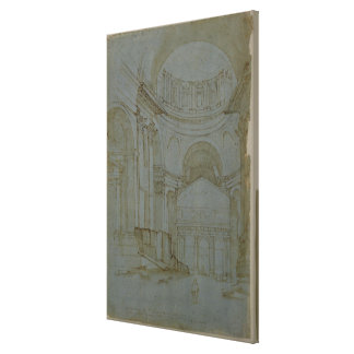 View in New St. Peter's in Rome Canvas Print