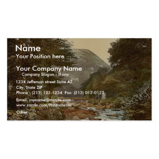 View in the East Lyn. with Lynton, Lynton and Lynm Double-Sided Standard Business Cards (Pack Of 100)