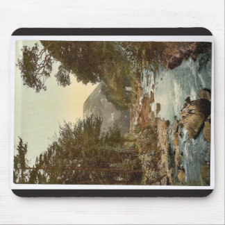 View in the East Lyn. with Lynton, Lynton and Lynm Mouse Pad