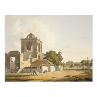 View in the Fort, Madura, plate 14 from Part 2 of Postcard