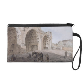 View in the Roman Forum (The Temple of Peace) 1779 Wristlet Purses