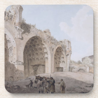 View in the Roman Forum (The Temple of Peace) 1779 Coaster