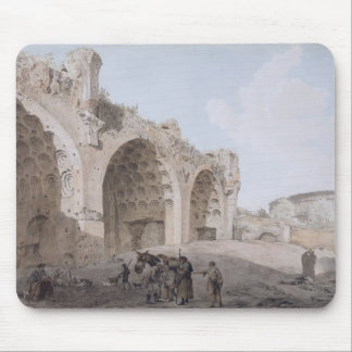 View in the Roman Forum (The Temple of Peace) 1779 Mouse Pad