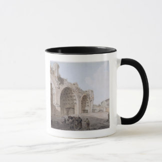 View in the Roman Forum (The Temple of Peace) 1779 Mug