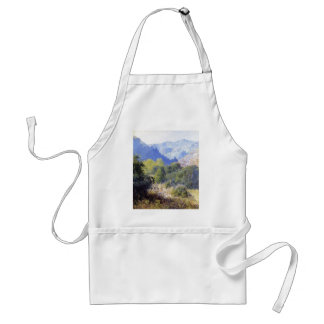 View in the San Gabriel Mountains by Guy Rose Adult Apron