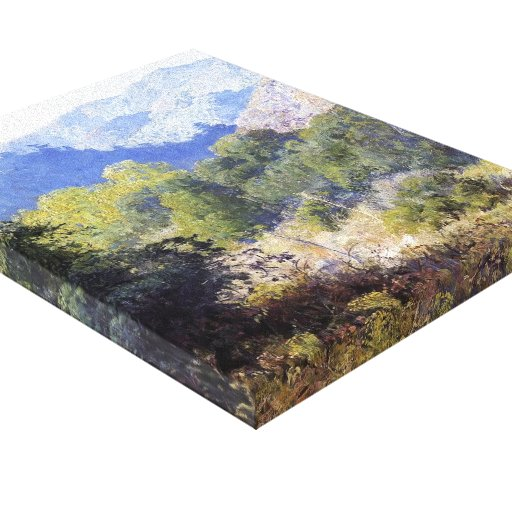 View in the San Gabriel Mountains by Guy Rose Canvas Prints