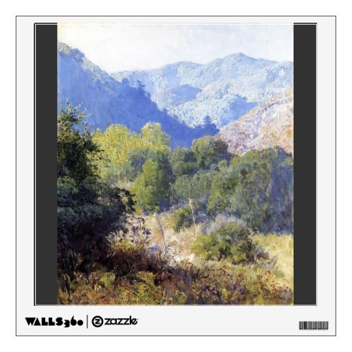 View in the San Gabriel Mountains by Guy Rose Room Decal