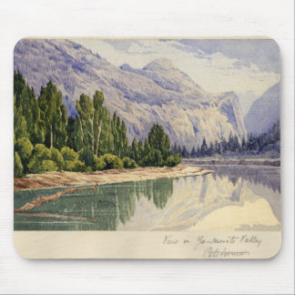 View in Yo-Semite Valley California Mouse Pad