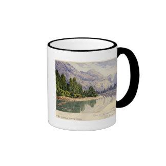 View in Yo-Semite Valley California Ringer Coffee Mug