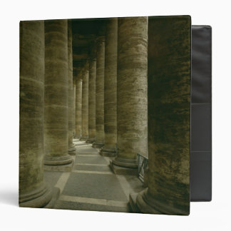 View inside the colonnade binder