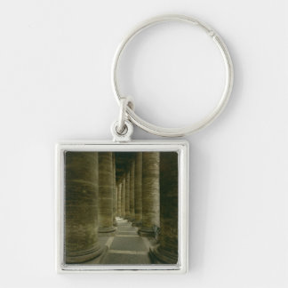 View inside the colonnade keychain