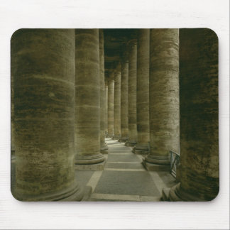 View inside the colonnade mouse pad