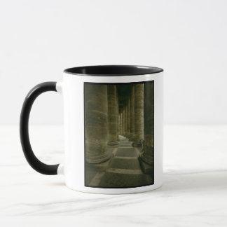 View inside the colonnade mug