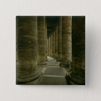 View inside the colonnade pinback button