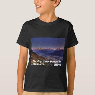 View Landscape  : HIMALAYA POKHARA NEPAL T-Shirt
