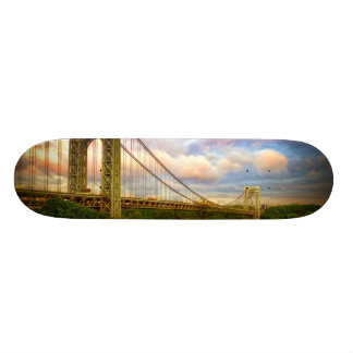 View looking South - West from Manhattan Skateboard Deck