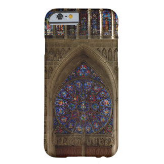 View looking west from the nave, rose window desig barely there iPhone 6 case