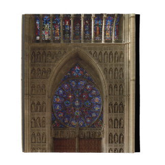 View looking west from the nave, rose window desig iPad folio covers
