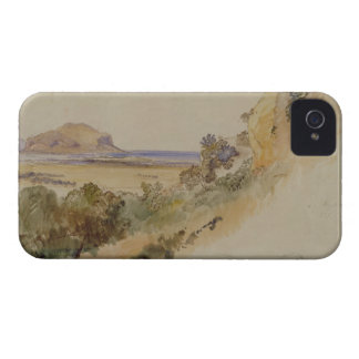 View near Palermo, 1847 (pen & ink with w/c over p iPhone 4 Case