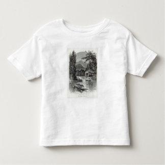 View near Serinugur, from 'Leisure Hour', 1888 Toddler T-shirt
