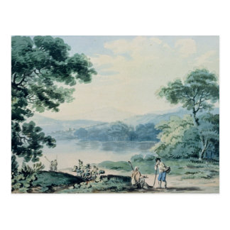 View near Virginia, County Cavan Postcard