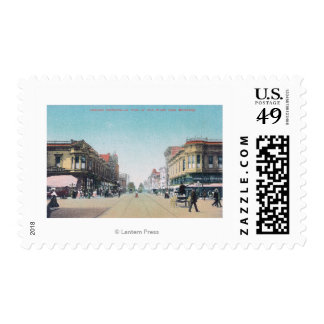 View of 13th Street from BroadwayOakland, CA Postage