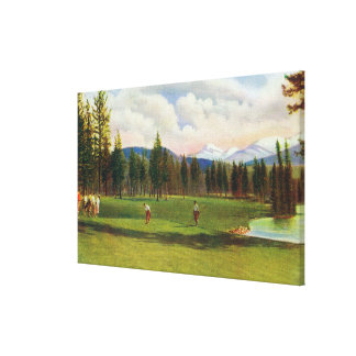 View of 14th Green Canvas Print