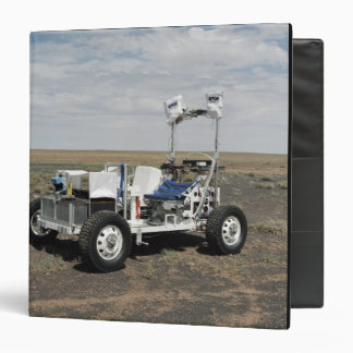 View of a 1-G Lunar Rover Vehicle 3 Ring Binder