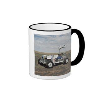 View of a 1-G Lunar Rover Vehicle Ringer Coffee Mug