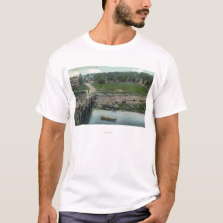 View of a Camp Ground T-Shirt