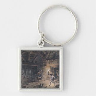 View of a cell in the Bastille Keychain