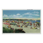 View of a Crowded Craigville Beach Posters