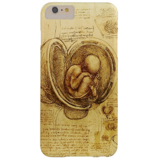 View of a Fetus in the Womb,Ob-Gyn Medical Barely There iPhone 6 Plus Case