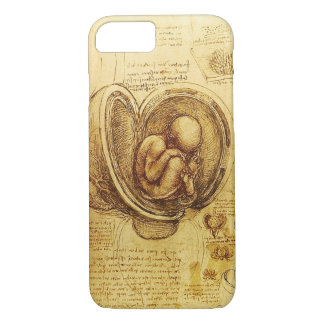 View of a Fetus in the Womb,Ob-Gyn Medical iPhone 8/7 Case