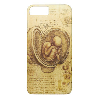 View of a Fetus in the Womb,Ob-Gyn Medical iPhone 8 Plus/7 Plus Case
