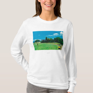 View of a Green at the Royal Kaanapali Golf T-Shirt