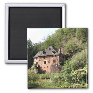 View of a manor house (photo) refrigerator magnets