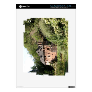 View of a manor house (photo) skin for iPad 3