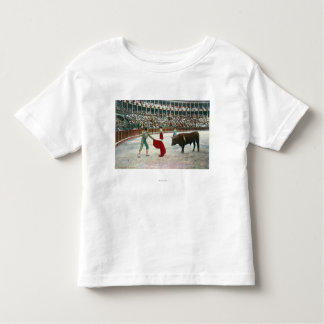 View of a Matador About to Slay the BullSpain Toddler T-shirt