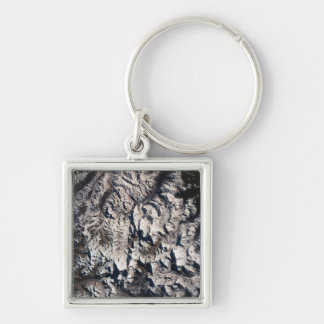 View of a Mountain Range Keychain