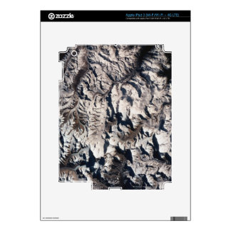 View of a Mountain Range Skins For iPad 3