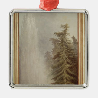 View of a Park, 1783 Metal Ornament